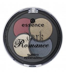 ess. Dark Romance Quattro eyeshadow 01