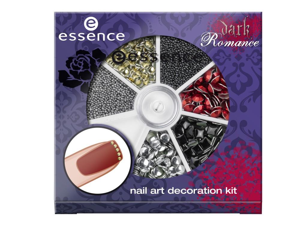 ess. Dark Romance Nail Art Decoration Kit