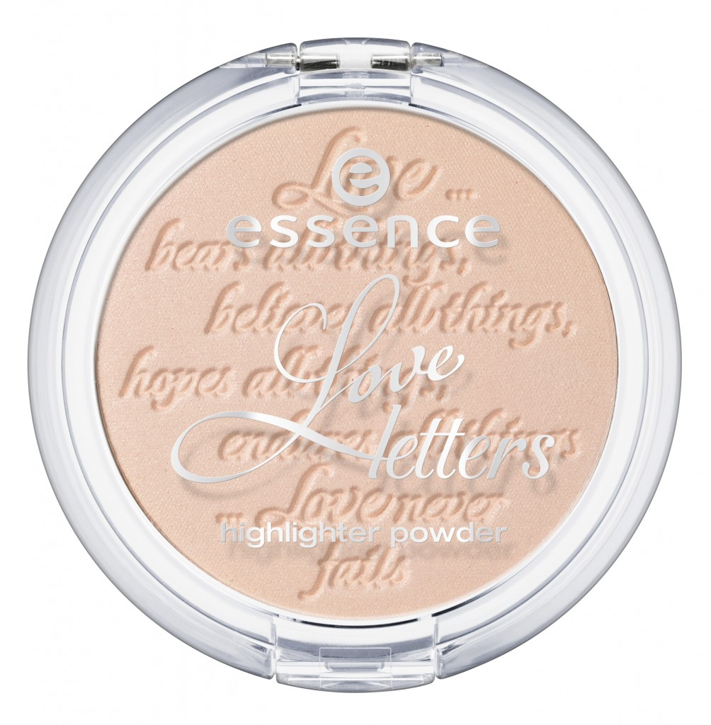 ess. Love Letters Highlighter Powder