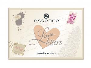 ess. Love Letters Powder Paper