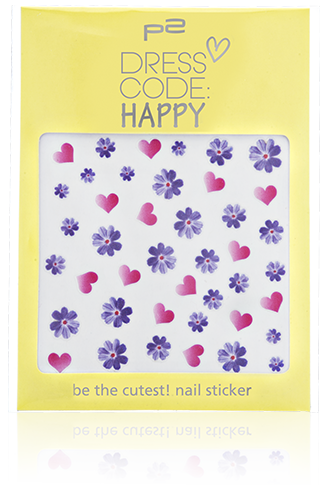 p2-be the cutest! nail sticker