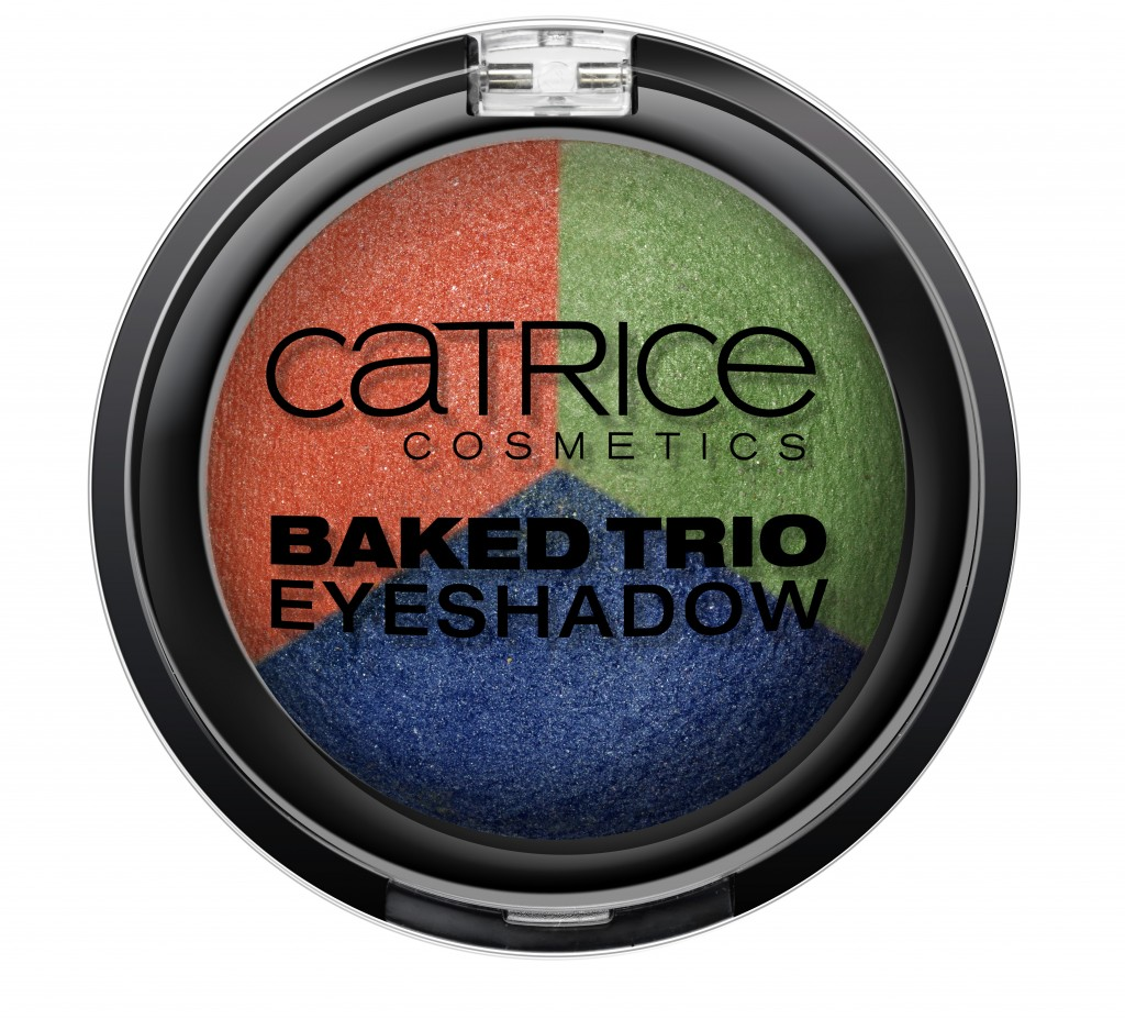 Catrice Carnival of Colours Baked Trio Eyeshadow C02