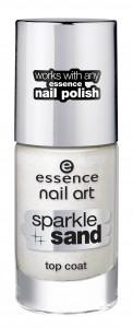 essence sparkle sand top coat 24