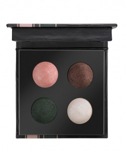 Check & Tweed Quattro Baked Eyeshadow C01