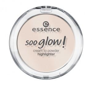 ess. soo glow! cream to powder highlighter #10