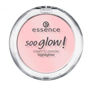 ess. soo glow! cream to powder highlighter #20