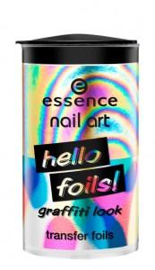 essence nail art hello foils! 01