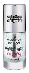 essence shake me i?m pretty top coat 25