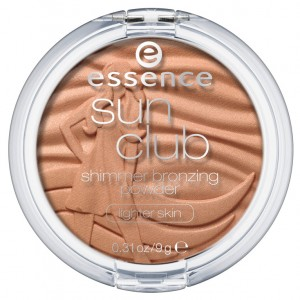 ess. sun club shimmer bronzing powder lighter skin closed