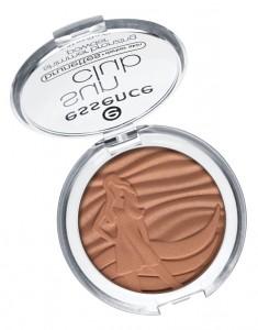 ess. sun club shimmer bronzing powder lighter skin open